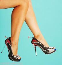 Iron Fist Race with the Devil heels stiletto platform pin-up rockabilly VLV 37