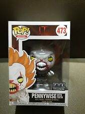 FUNKO POP FYE EXCLUSIVE IT *PENNYWISE WITH TEETH* MINT w/Pop Protector!