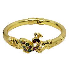 Indian Peacock Style Gold Plated Bracelet Bangle Openable kada Fashion Jewelry