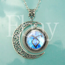 Angelic Power Rune Necklace Shadowhunters jewelry Fashion Moon Pendant Necklaces