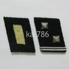 WW2 German Officer Hauptscharführer Collar Tabs NCO & EM Kragenspiegel Repro