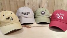 Golf Hats Baseball Cap Style Lot of 4 Bay Hill Rum Pointe The Rock Bull Run