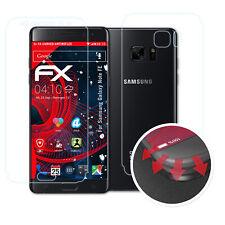 atFoliX 3x Anti Shock Screen Protector for Samsung Galaxy Note FE matt&flexible
