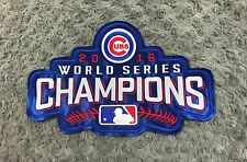 """Chicago Cubs """"2016 WORLD SERIES CHAMPIONS"""" Embroidered Patch 10.6""""x6.7"""""""