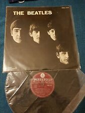 ROCK BEAT THE BEATLES STORY 1963 DARK RED INDACO LABEL BIEM PARLOPHON PMCQ 31502