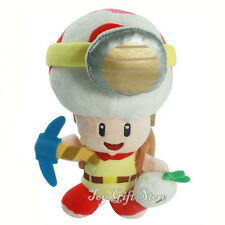 "Super Mario Bros. WiiU Plush Doll Toy Treasure Tracker Captain Toad STANDING 8"""