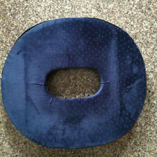 DEEP MEMORY FOAM PRESSURE RELIEF RING / CUSHION. WITH WASHABLE COVER Blue