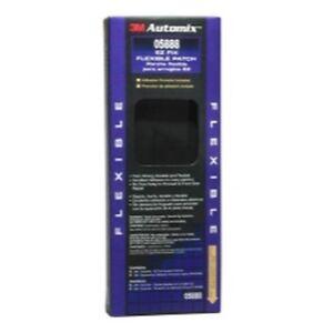 """3M 05888 Automix EZ Fix Flexible Patch, 4"""" x 8"""" - Plastic Repair"""