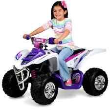 Yamaha Raptor ATV Quad 12 Volt Battery Powered Ride On Toy Kids Girls Childrens