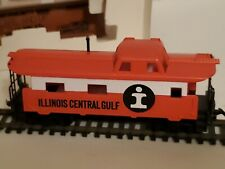 TYCO Vintage HO SCALE CABOOSE ILLINOIS CENTRAL GULF #327-14