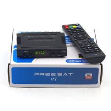 Freesat V7 HD 1080P FTA Set DVB-S2 Digital Mini TV Box Receiver Support Wifi