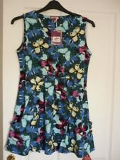 Joe Browns Crazy Butterfly Tunic Top Blue Multi. UK 10 EUR 36-38 US 6.