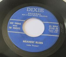 JAKE THOMAS WITH THE TOMCATS - MEANEST BLUES/POOR BOY BLUES DIXIE Rockabilly