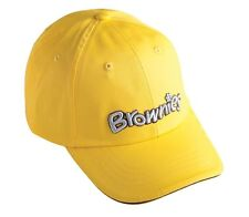 BROWNIES BASEBALL SCOUT CAP UNIFORM BOYS KIDS YELLOW COTTON FREE FAST DELIVERY