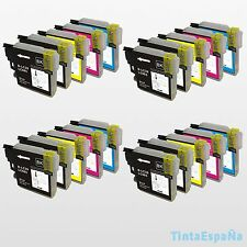 20 Cartuchos compatibles NonOem BROTHER LC985 XL - DCP-J125 DCP-J315W DCP-J515W