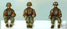 SHQ SS40c 1/76 Diecast  WWII German SS Drivers for Trucks w/Camoflage Clothing