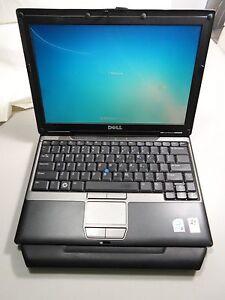 "Dell Latitude D430 Laptop 12.1"" Windows 7 intel 1.2ghz 2gb Ram 60gb"