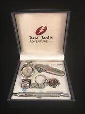 Paul Jardin Adventure Mens Water Resistant Watch Set NIB Retail $129.00(MustSee)