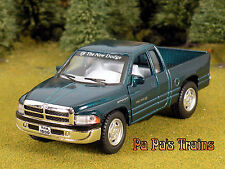 Green Die Cast Dodge Ram Pickup by Kinsmart O Scale 1:43 by Kinsmart