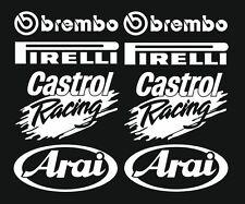 Brembo...  Motorsport Sponsoren Aufkleber Racing Set Motorrad