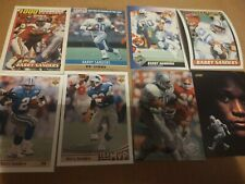 8 Football Card Lot -- Barry Sanders -- Detroit Lions0- Topps! Score! Rookies!!