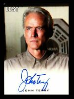 Lost Archives 2010 John Terry as Dr. Christian Shephard Autograph Card