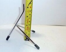 Desk Display Manufacturers Model Plane Display Stand chrome tripod with feet