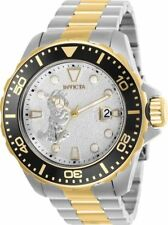 New Mens Invicta Character Collection 50mm Two-Tone Steel Automatic Watch