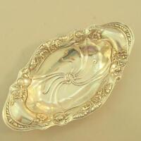 """Antique Gorham Small Sterling Art Nouveau Bowl Dish 9"""" x 5"""""""