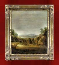 Künstlerische Malereien mit Landschaften & Städten von 1700-1799