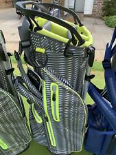 OUUL Python 100% Waterproof Funky Stand Bag Grey/Yellow Brand New **Sale**