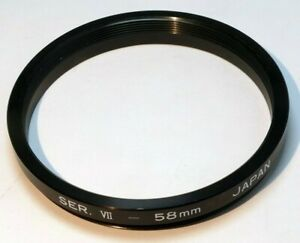 58mm to 54mm (series 7 VII) Step-Down Metal threaded Lens Ring