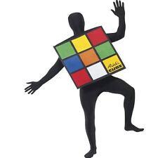 Funny Giant Rubik's Rubiks Cube 80s Adult Unisex One Size Smiffys Costume