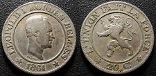 Belgique - Léopold Ier - 20 centimes 1861 - KM#20