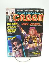 CREEM Magazine August 1985 Madonna Bon Jovi Tears for Fears Prince RARE