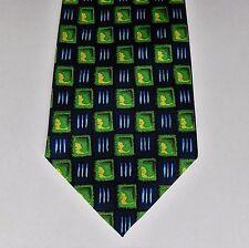 Burton Mens Wear check tie Green and blue