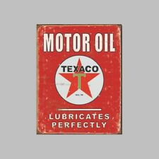 Metal Sign Texaco Motor Oil (30 x 40 cm)