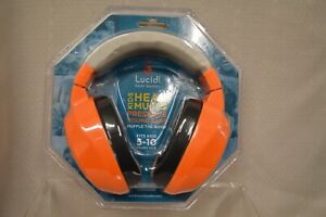 U PICK Lucid AUDIO Better HEAR MUFFS 5-10 KIDS Orange RED Green MUFFLE NOISE New