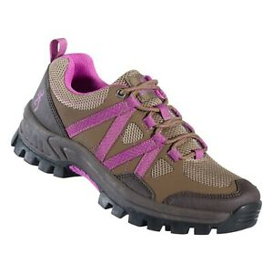 Browning Womens Glenwood Trail Shoe Cub/Radiant Orchid