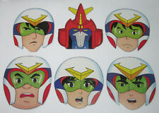 6 pcs Philippine VOLTES V Cardboard Masks Limited Voltus Japan