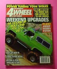 PETERSON'S 4 WHEEL & OFF-ROAD MAGAZINE AUG/1993...JEEP BUILDER'S GUIDE