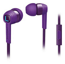 Philips SHE7055 PP / Purple Citiscape In Ear Headphones with mic  Genuine
