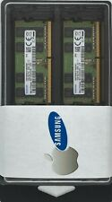 Samsung 32GB Kit (16GBx2) SODIMMs PC4-2666V DDR4 Laptop 2x  M471A2K43CB1-CTD MAC