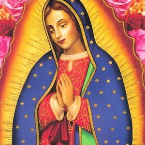Large Virgin Mary Panel - Inner Faith - Robert Kaufman ABCD-19216 195 Bright