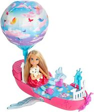 Barbie Dreamtopia Magical Dream Boat Ages 3+ Toy Chelsea Doll Play Bed Dress Fun