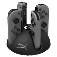 HyperX ChargePlay Quad - Joy-Con Charging Station for Nintendo Switch with LED