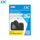 JJC 0.3mm Optical Tempered Glass Screen Protector for Nikon Z5 Z6 Z7 Z6II Z7II