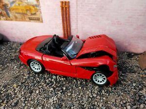 1/18 Dodge Viper SRT10 Crash-test/Scrapyard Model