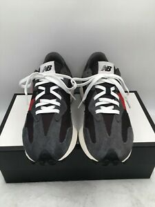 New Balance 327 MS327FF Magnet Team Red Black Running Shoes Men's Size 10.5 D