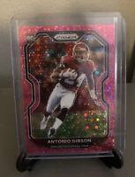 2020 Panini Prizm Antonio Gibson No Huddle Pink Disco SSP RC /15 Washington Mint